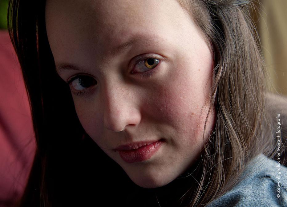 Portretfoto van Evie.