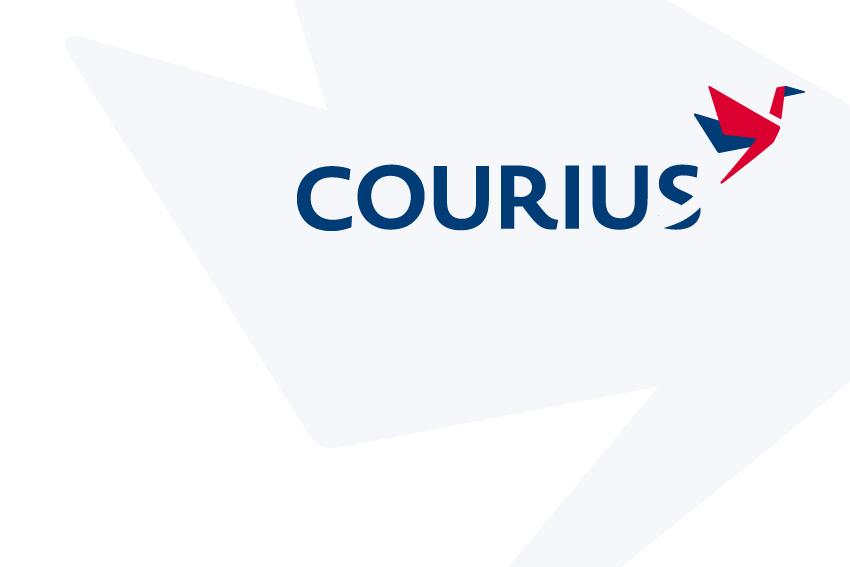 Logo voor Courius.