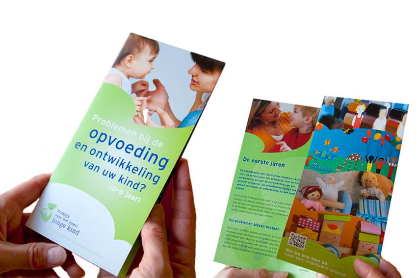 Foto van folder voor Praktijk voor het (zeer) jonge kind.